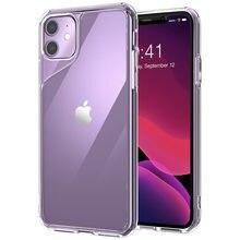Pour étui iPhone 11 6.1 pouces (2019 libération) i blason Halo Series résistant aux rayures couverture arrière transparente pour iPhone 11 6.1 pouces