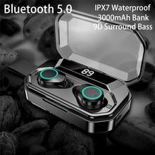 TWS Blutooth V5.0 Earphone Wireless Mini Earbuds Stereo Sport Headset Headphone