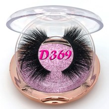 Mikiwi D369 3D mink eyelashes GB popular long thick 3d mink lashes 50 styles UK mua Rose gold case Volume mink lashes все цены
