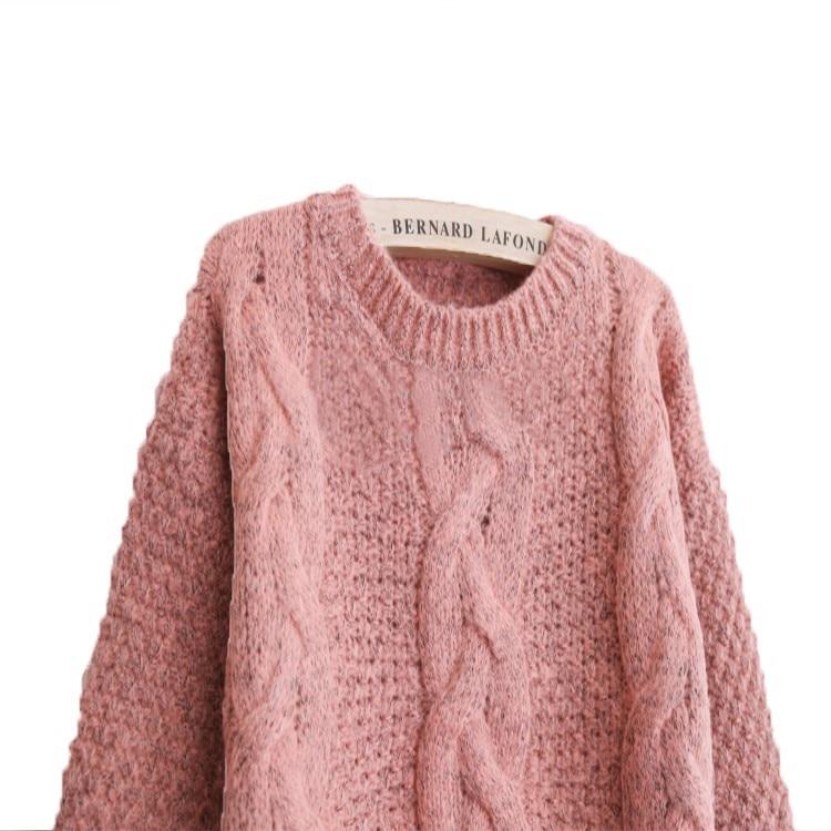 Neue 2019 mode warme winter pullover frauen pullover frauen vintage - Damenbekleidung - Foto 5