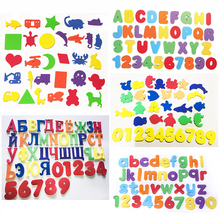 Пазл для ванной EVA с буквами, игрушки для транспортировки пасты, когнитивные слова для детского сада, головоломки для ванной комнаты, детски...