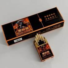 Quitte la fumée artefact diable noir saveur de chocolat Cigarettes à base de Cigarettes de thé chinois produits sans tabac sans Nicotine