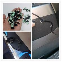 40Pcs Self-adhesive Wire Tie Cable Clamp Clips Holder for VW Volkswagen Golf 5 6 7 JETTA PASSAT B5 B6 B7 B8 MK4 MK5 MK6 Tiguan