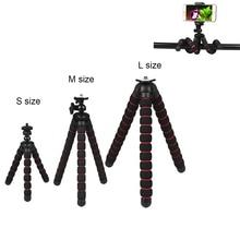 Akcesoria do aparatu elastyczna gąbka statyw Octopus dla CanonNikonSony Go Pro 8 7 6 5 4 H8 Sj9 Sj7 DJI OSMO Mobile telefon Redmi 7
