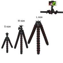 Camera Accessories Flexible Sponge Octopus Tripod for CanonNikonSony Go Pro 9 8 7 6 5 4 H8 Sj9 Sj7 DJI OSMO Mobile Phone Redmi 7