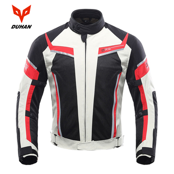 DUHAN Motorcycle Jacket Men Summer Breathable Off-Road Jacket Mesh Moto Racing MotocrossJacket Motorcycle Protective Clothing duhan summer motorcycle jacket men breathable mesh riding moto jacket motorcycle body armor protector moto cross clothing