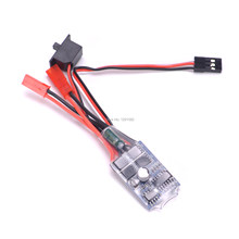30A ESC Brushed ESC without / with Brake Motor Electric Speed Controller for DIY Mini RC Car Boat Tank(China)