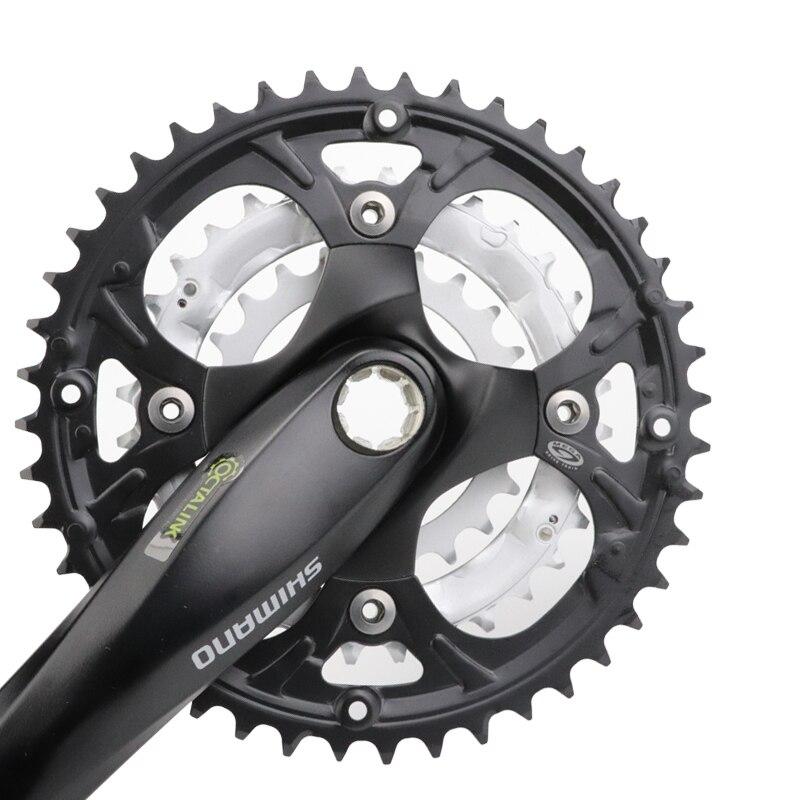 Shimano FC-M442 OCTALINK MTB Bike Crankset 44-32-22 9 10 Speed 175mm With BB