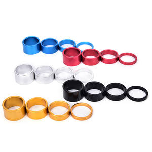 4x Bicycle Headset Spacer Road Bike Headset Washer Front Stem Fork Spacers ne MF