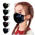 Детские маски для лица, моющиеся, многоразовые, для улицы, с принтом бабочки, хлопковая маска для лица, Mascarilla Mondkapjes Wasbaar