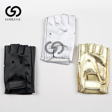Half Finger Gloves Men PU Leather for Motocycle Fingerless  Military Tactical Women