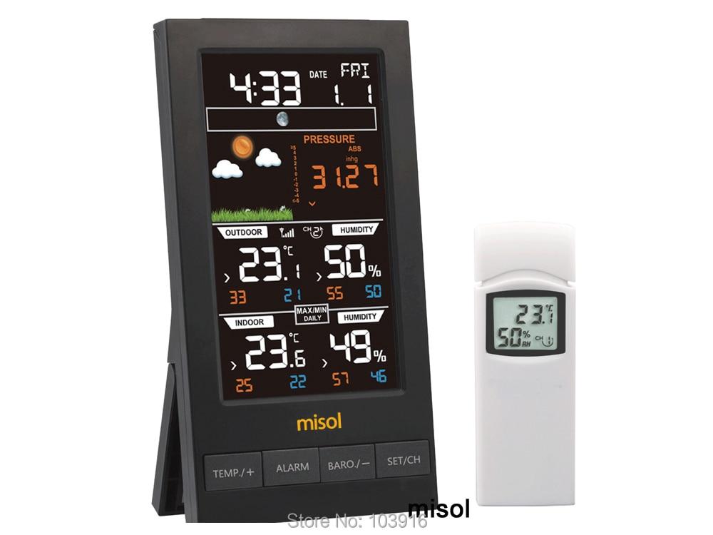 Pro Signal Thermo Higrómetro Digital Con Función De Alarma /& Calendario Pantalla