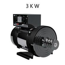 Небольшой дизельный генератор 3 кВт однофазный 220 В бензиновый
