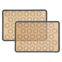 Leeseph Silicone Macaron Baking Mat Sheet 42*29.5CM, Baking Accessories(China)