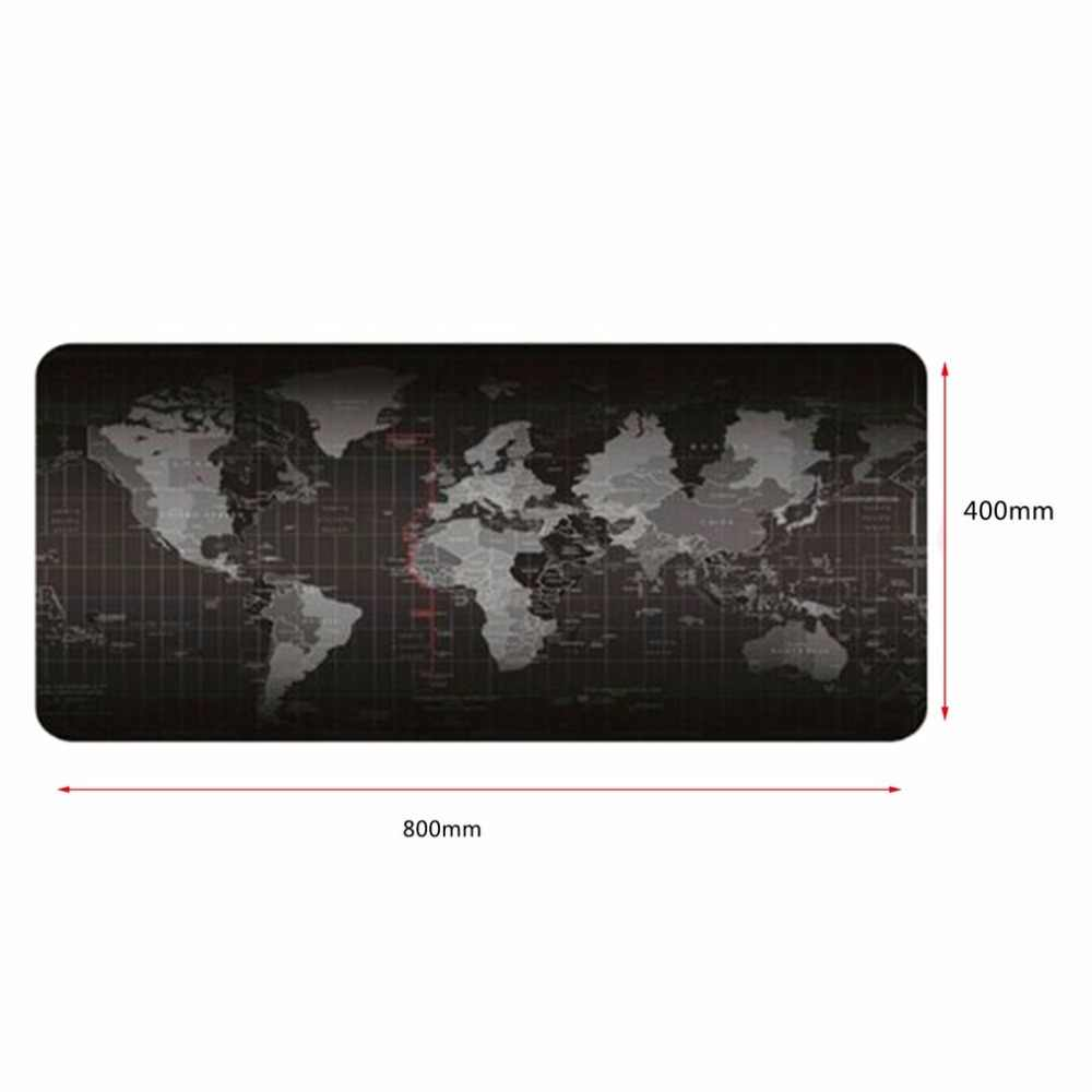 2 ขนาดขนาดใหญ่ขนาดแป้นพิมพ์เมาส์ Pad World แผนที่รูปแบบเมาส์คอมพิวเตอร์แป้นพิมพ์ยางแผ่นตาราง hot ขาย
