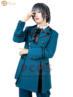 In Stock, BEST Outfits Black Butler 2 Ciel Phantomhive Cosplay Costume & Eye mask mp003218