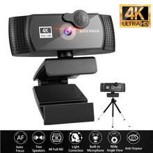 Webcam 4K Web Camera 1080P For Computer USB Webcam Full HD 1080P WebCamera With Microphone Privacy Cover For Youtobe Mini Camera