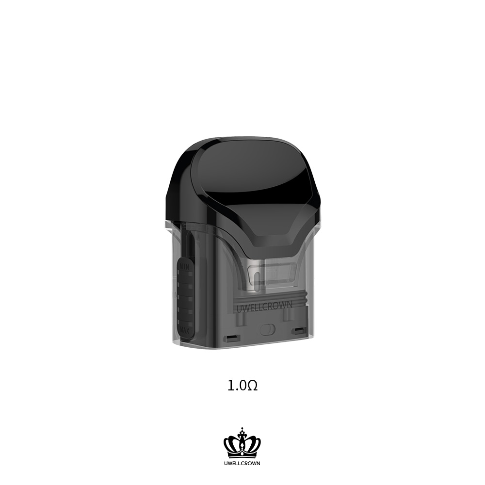 Image 3 - 5 Packs UWELL Crown Refillable Pod  3ml capacity suitable for  Crown Pod System Vape PodEletronic Cigarette Atomizer Cores   -