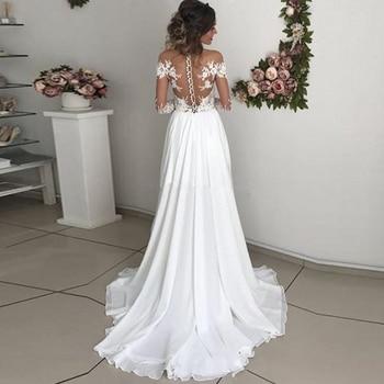 Robe pour Mariage Bohème Romantique Amélia