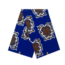 2019 the lastest design african wax ankara pagne dutch block prints in fabric 100% cotton 6yards/piece woman dress cloth V-L 748