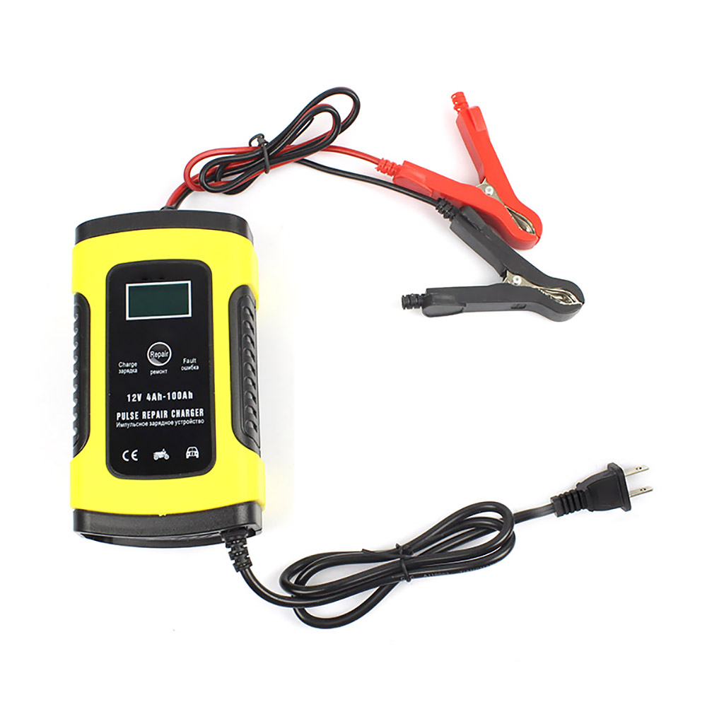 New 12V 6A Full Automatic <font><b>Car</b></font> <font><b>Battery</b></font> <font><b>Charger</b></font> Power <font><b>Pulse</b></font> <font><b>Repair</b></font> <font><b>Chargers</b></font> Wet Dry Lead Acid <font><b>Battery</b></font>-<font><b>chargers</b></font> Digital LCD Display image