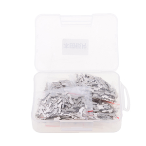 600 Pcs/Set Car Lock Reed Key Cylinder Gasket Plate & Case For Honda Clutch Lock Anti-theft #1 #2 #3 #4 #5 #6 Car Accessories