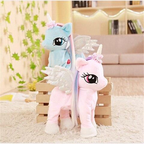 engracado brinquedos unicornio brinquedo de pelucia com