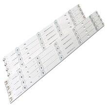 """100% nuovo 98cm striscia lampada retroilluminazione a LED 9 LED per lg 47 """"TV innotek DRT 3.0 47"""" 47LB6300 47GB6500 47LB652V 6916L 1948A 1949A LC47"""