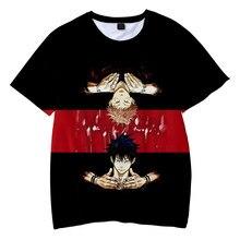 Japan Comics Jujutsu Kaisen T-shirt O-Neck Men's Women's Summer Short Sleeve Casual Harajuku Streetshirt Unisex Clothes