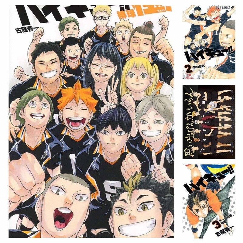 1 шт. Новый стиль аниме-волейбол мальчик цифровой Краски кошмарным Японии стиль мультфильм плакат Краски ing аниме Плакаты