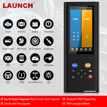LAUNCH X431 Auto Scanner OBD 2 Code Reader Car Diagnosis TPMS Programming Key Co