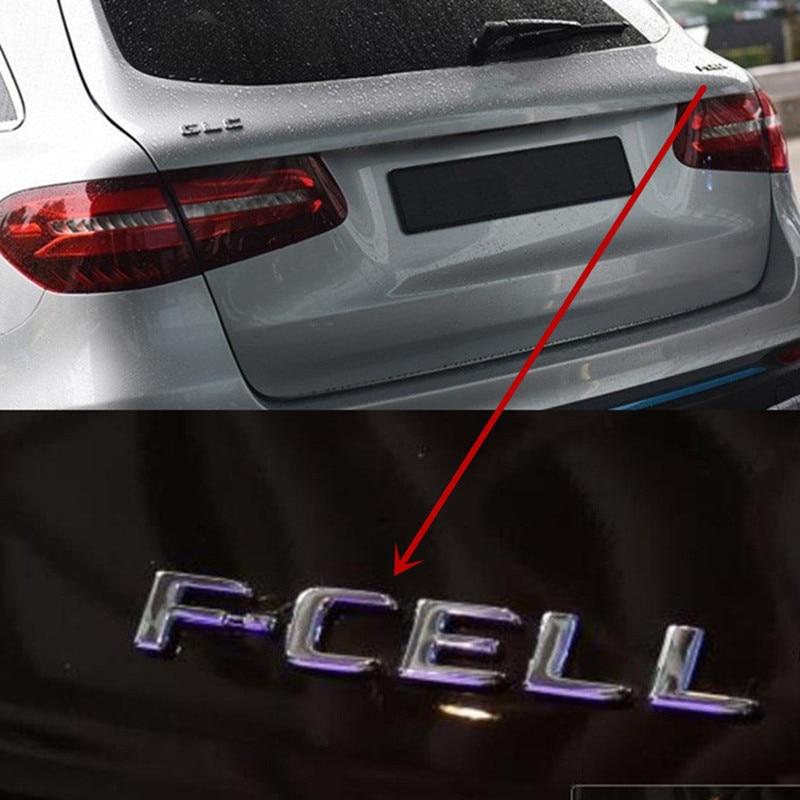 Эмблема значок для Mercedes Benz GLC FCELL синий эффективность CDI CGI Логотип чистая энергия топливный кран автостайлинг багажник хромированная наклейка-in Наклейки на автомобиль from Автомобили и мотоциклы on AliExpress