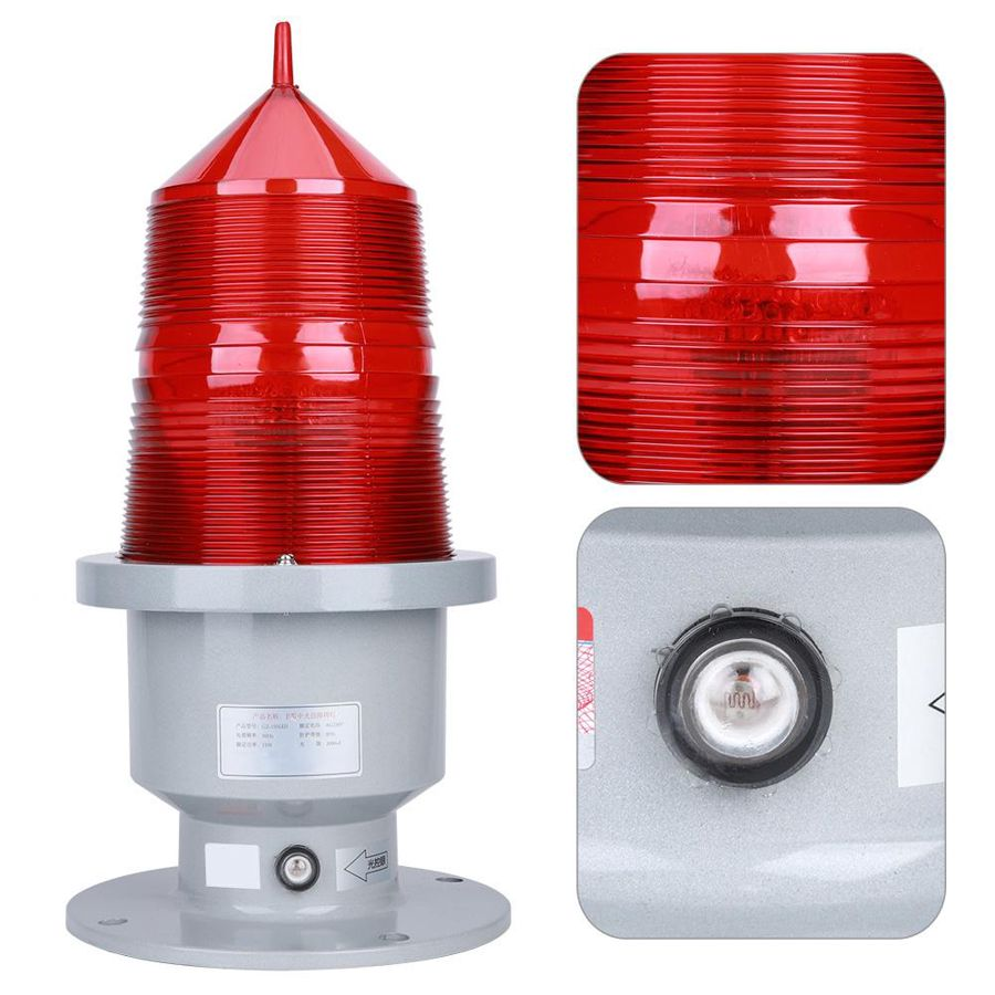 GZ-155LED Aviation Obstruction Light Highlight Beacon Signal Flash Rooftop Fishing Boat