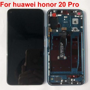 Image 3 - 100% test Original 6.26 For Huawei Honor 20 Pro honor 20 YAL L21 LCD Display Touch Screen Digitizer Assembly parts with frame