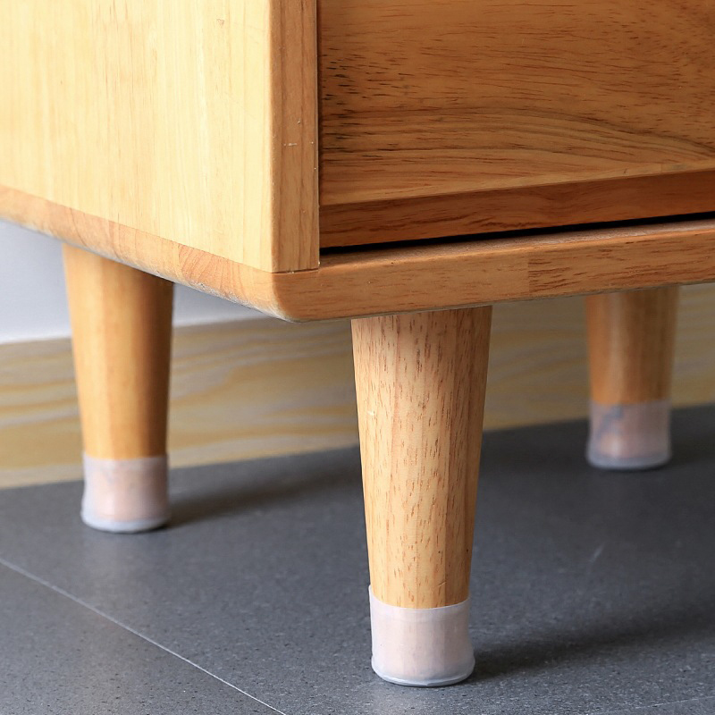 Practical Wear-resistant Dining Table Leg Stool Leg Silicone Protective SleeveQuiet Wear-resistant Chair Foot Cover