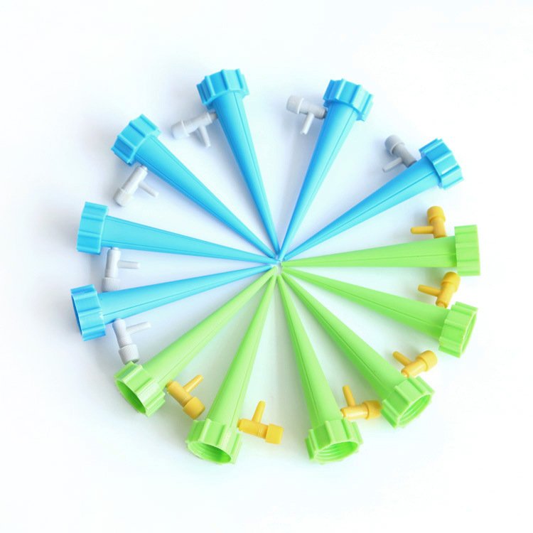 12pcs Automatic Watering Garden Supplies Irrigation Kits System Houseplant Spikes For Gardening Plant Potted Energy Saving