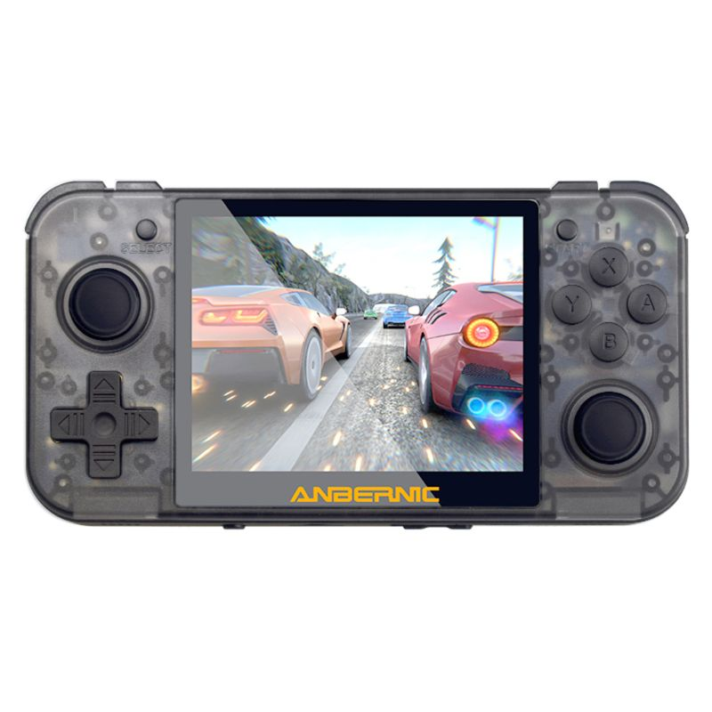 RG350 Retro Game Console 64bit Handheld Console 3.5 Inch IPS Screen Dual-core image
