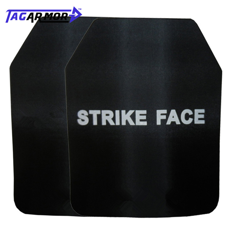 1pc NIJ IV Level Bulletproof Steel Plate Military Ballistic Plate For Bullet Proof Vest