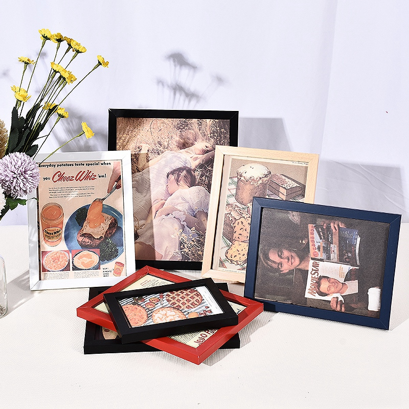 Photo Frame Decorative Frame for Picture Kids Photo Dispaly Stand Frames for Pictures Picture Frame for Paintings Home Decor