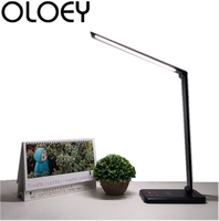 LED desk lamp wireless charging dimming light touch USB charging switch living room bedroom study desktop lighting mobile power