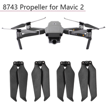4pcs Propeller 8743 Carbon Fiber Folding Paddle for DJI Mavic 2 Pro Zoom Blades Props Drone Accessories Replacement