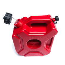 3L Portable Fuel Tank 0.75 Gallon Red Gasoline Cans Spare Petrol Plastic Tanks Mount Motorcycle Petrol Container Fuel jugs