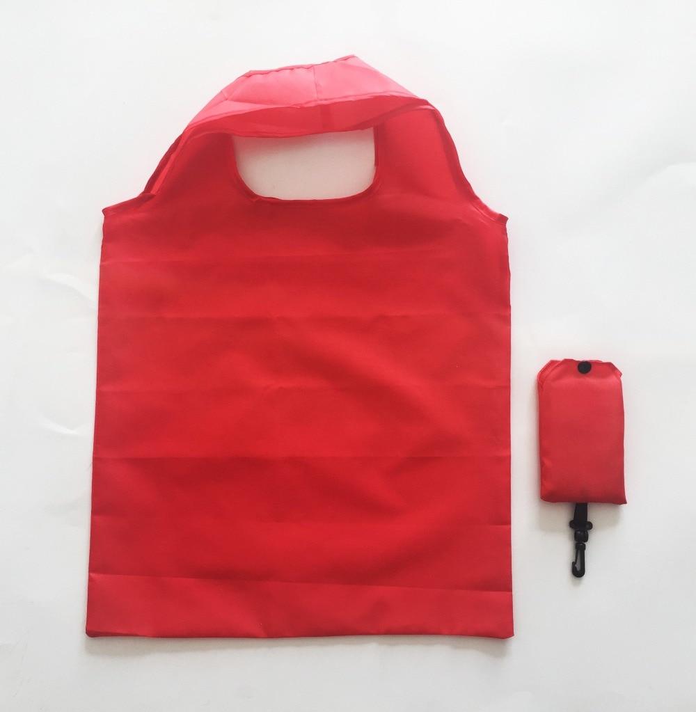 10pcs Mulheres Reutilizável Dobrável Eco Shopping Bag