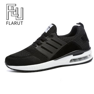 Image 2 - Flarut Men Tennis Shoes Air Cushion Lace Up Men Sport Shoes Breathable Mesh Sneakers Black Tenis Hombre Trainers Athletic Shoes