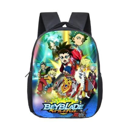 Beyblade Burst 12 Inch School Bags For Kids Boys School Backpacks Shoulder Bagpack Children Bookbag Satchel