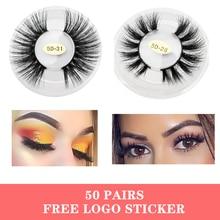 AceOfSexy Mink Lashes 3D Mink Eyelashes 100% Cruelty free Lashes Handmade Reusable Natural Eyelashes Popular False Lashes Makeup