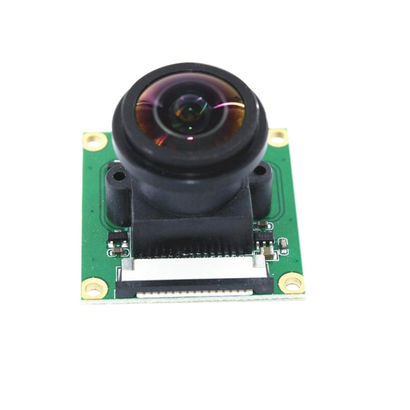 5Mp Camera Module With 175 Degree Wide Angle Fisheyes Lens For Raspberry Pi 2/3/B+