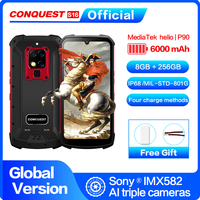 Global Version S16 IP68 Waterproof 4G Mobile Phone 6.3Screen Android 9.0 helio P90 8 Core Shockproof Outdoor Rugged Smartphone