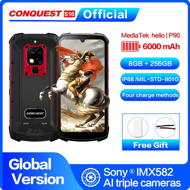 Globale Version S16 IP68 Wasserdicht 4G Handy 6.3