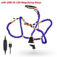 Blue 3X Magnifier